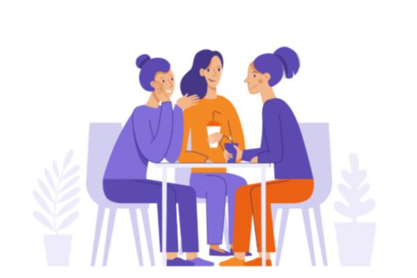 La compañía de amigos ayuda a salir de la depresión