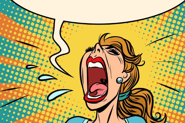 ¿Sufres de histeria o tienes episodios histéricos?