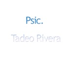 Psic. Tadeo Rivera